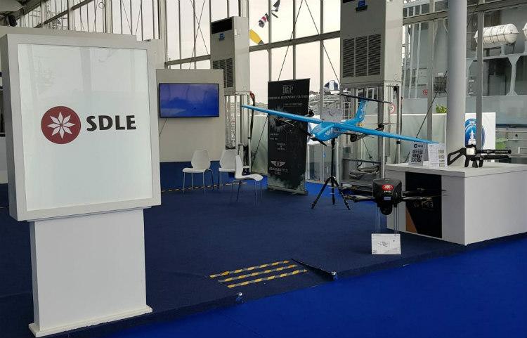 SDLE presenta en IDEX su última innovación en UAV para fuerzas especiales