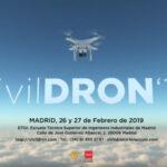 Avance del programa del Congreso CivilDron 2019