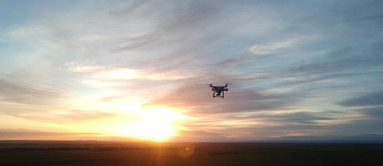 Uso de drones para la visualización en 3D de contaminantes del aire