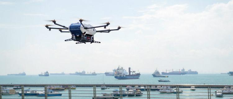 Skyways, el dron de reparto de Airbus, realiza las primeras pruebas