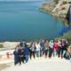 Pruebas con drones en la Casa del Agua de Santomera