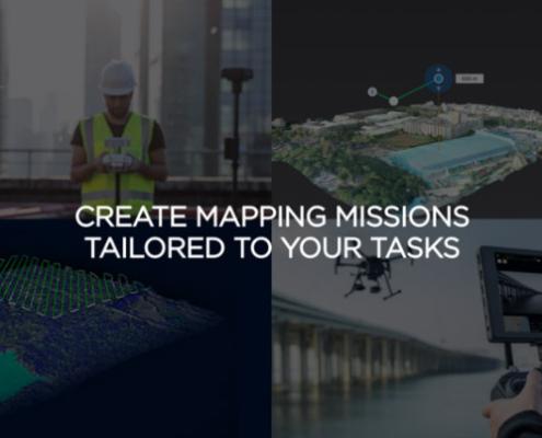 DJI Terra captura, visualiza y analiza la información recogida con drones