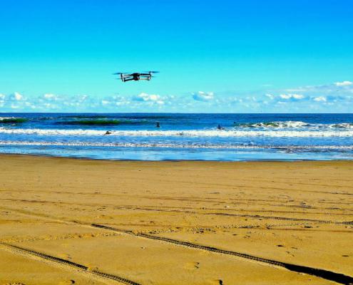 Proyecto Costaver para investigar con drones la evolución de zonas costeras