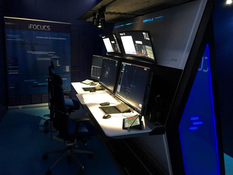 ENAIRE presentará la nueva posición de control aéreo iFOCUCS en el World ATM Congress
