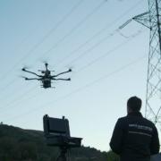 Aerocamaras es la única empresa en el mundo en usar drones con tres sensores para la inspección de redes eléctricas