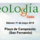 Geolodía 2019 en Cádiz: Uso de drones en geología litoral