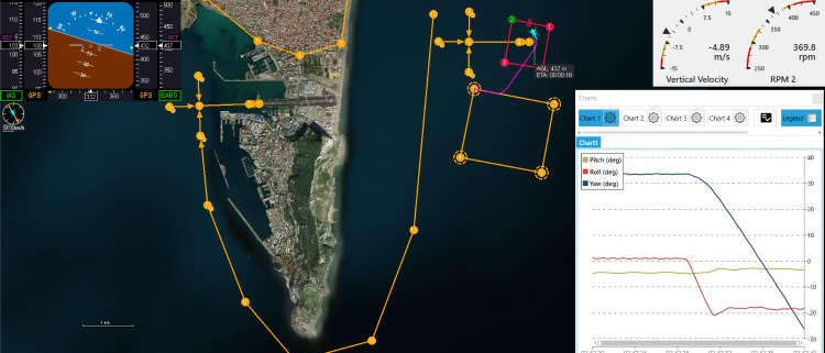 UAV Navigation lanza la Versión 8 de su Flight Control System