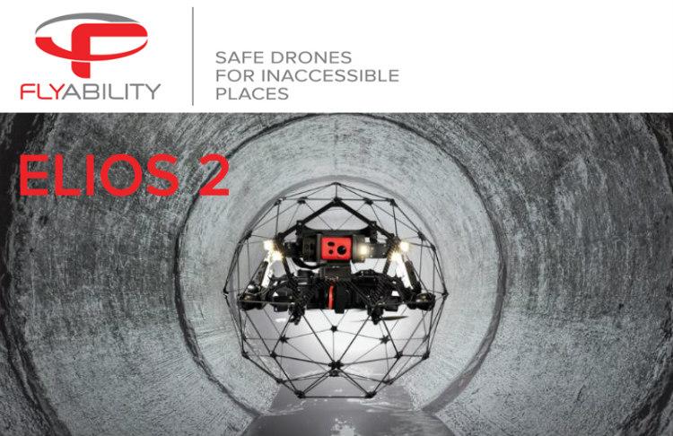 Inspección en interiores con el nuevo Elios 2 de Flyability
