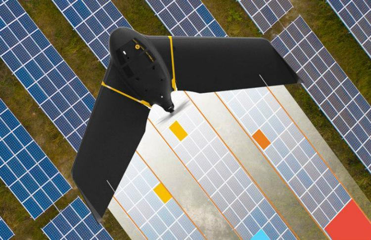senseFly presenta la solución térmica dron Solar 360