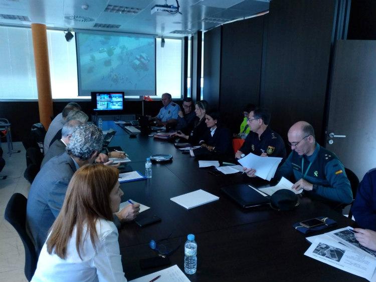 El Aeropuerto de Girona acoge el primer simulacro de accidente aéreo con drones