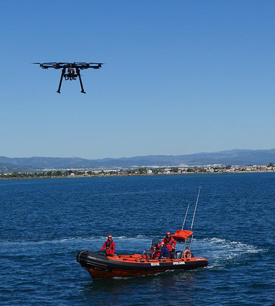 Proyecto FREEDA para la búsqueda de personas y embarcaciones