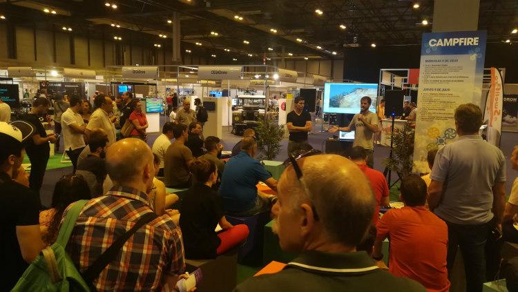 DJI mostrará en Expodronica 2019 sus usos industriales y para las administraciones
