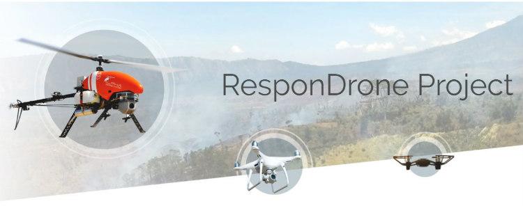 Proyecto ResponDrone para una mayor eficacia en la gestión de emergencias