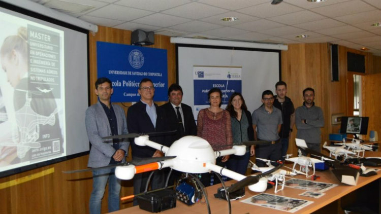 USC y Agasint se unen para potenciar el I+D+i en los drones