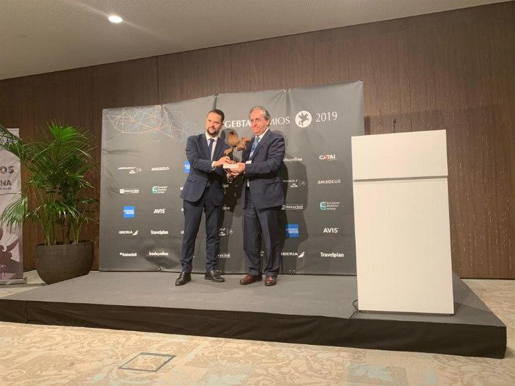 ENAIRE recibe el Premio GEBTA a la Trayectoria 2019