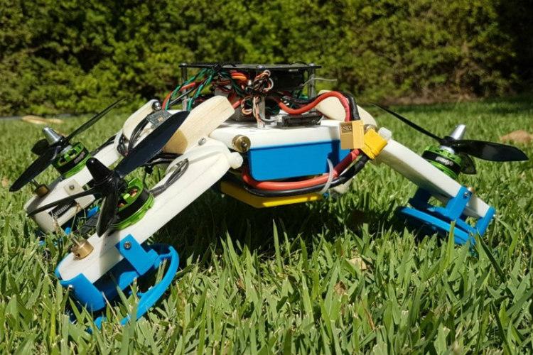 Investigadores de la BGU lanzan FSTAR, el dron por tierra y aire