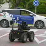 Prueba piloto para incorporar a la Policía Local de Sant Cugat un robot de patrullaje