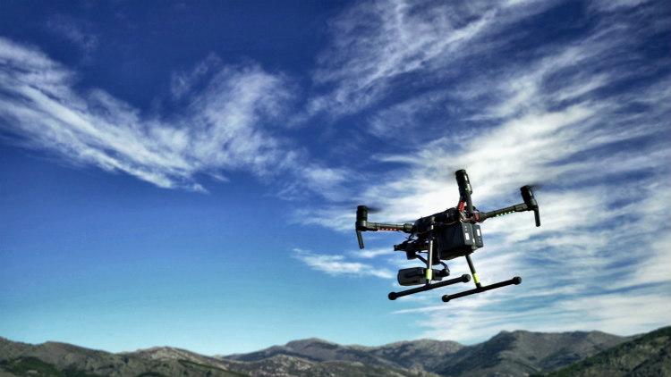 Telefónica realiza un piloto de drones antiincendios basado en soluciones IoT