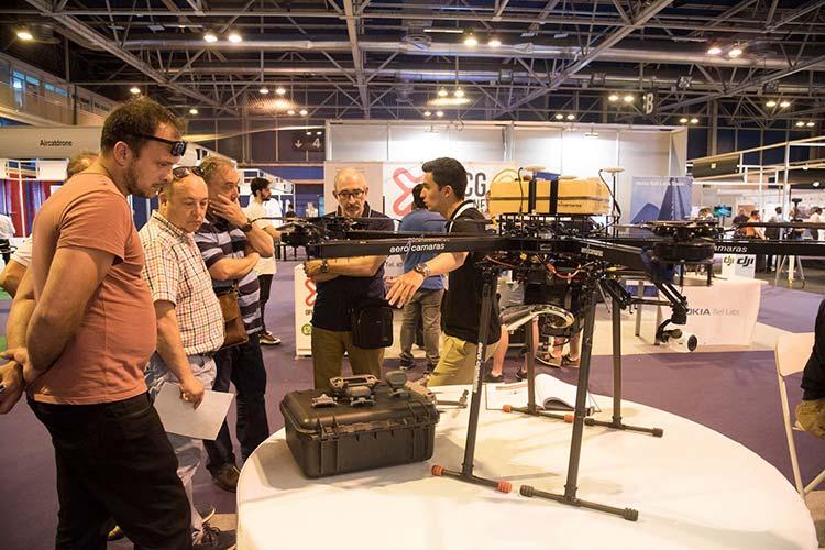 El AeroHyb dron con mayor autonomía de vuelo en Expodrónica 2019