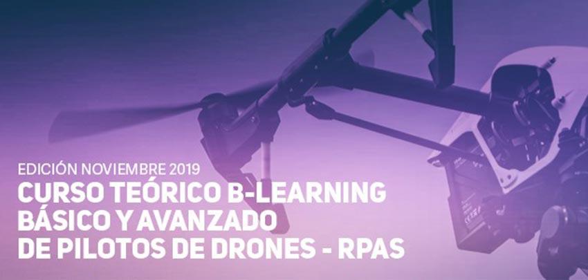 Curso Teórico de Piloto de Drones B-Learning Básico/Avanzado