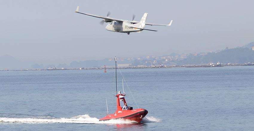 Indra desarrolla servicios avanzados de transporte con drones