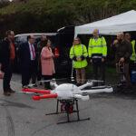 INDRA, SIXTEMA Y ADANTIA prueban el primer dron medioambiental