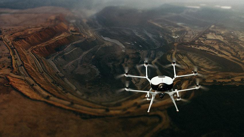 El dron de Doosan recibe galardones en los premios de la feria CES 2020
