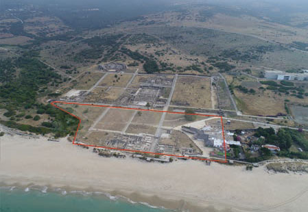 Drones al servicio de la Arqueología en Baelo Claudia - F 5