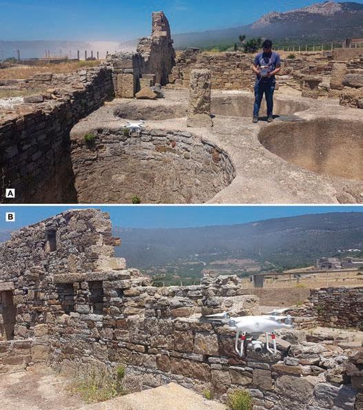 Drones al servicio de la Arqueología en Baelo Claudia - F 7