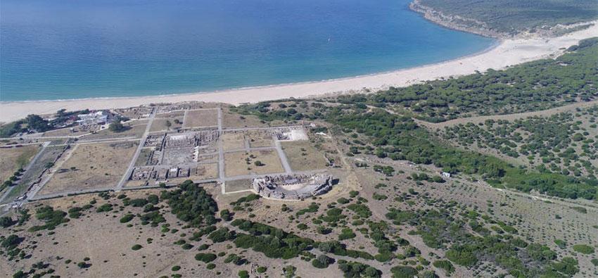 Drones al servicio de la Arqueología en Baelo Claudia