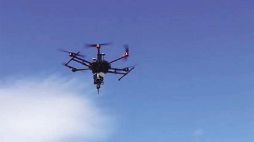 Levantamiento LIDAR-Fotogramétrico mediante UAV de ala rotativa