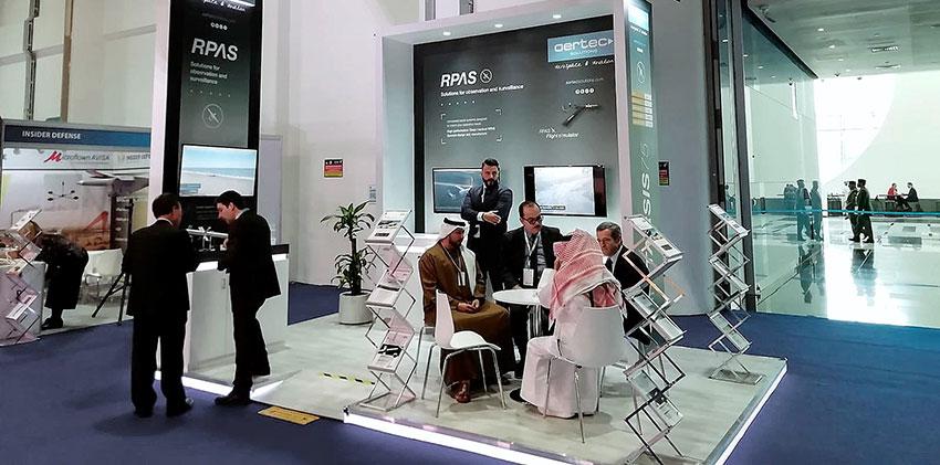AERTEC Solutions busca ampliar mercado en Oriente Medio