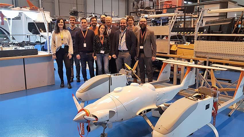 IMOV3D, el futuro de la movilidad aérea autónoma ya está aquí