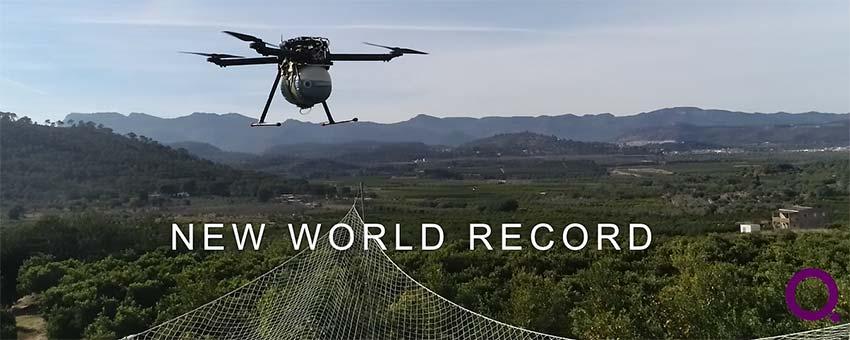 Un dron español rompe todos los Récords de tiempo de vuelo