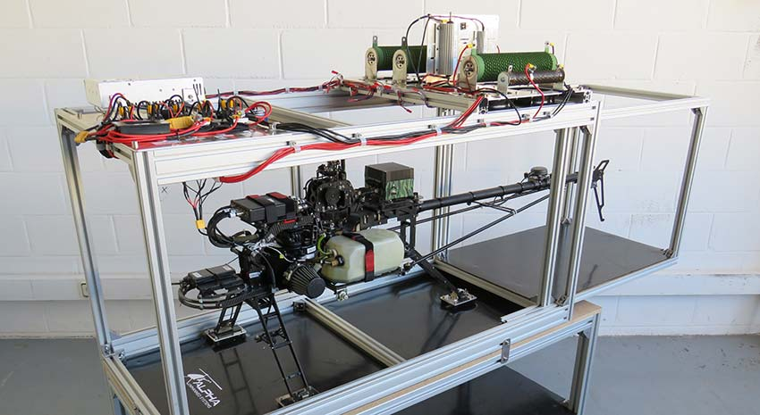 Alpha Unmanned Systems presenta su nuevo Banco de Pruebas HALT