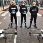 El granito de DJI Ars Madrid con sus drones ante el coronavirus