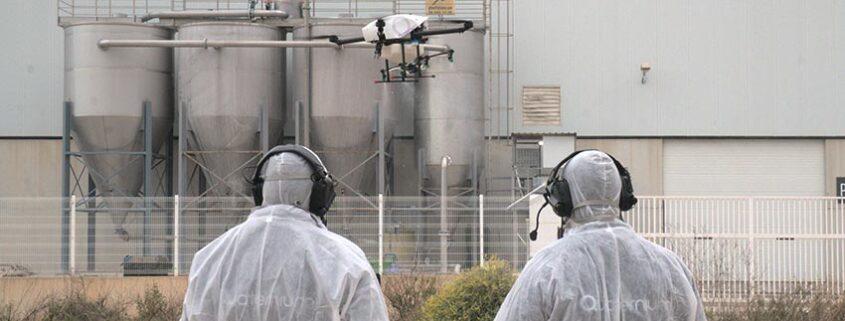 Drones Españoles colaboran para reducir la propagación del COVID-19