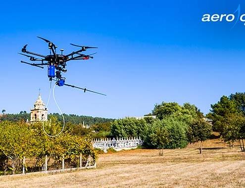 Dron de Aerocamaras puede poner fin a la avispa velutina