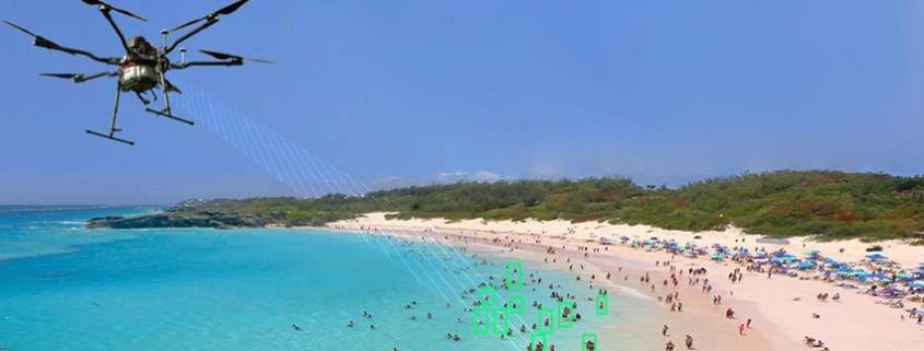 AeroCovid © sistema que asegura el aforo y distanciamiento en las playas
