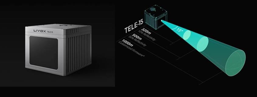 Livox Tele-15, lídar automotriz ahora disponible a nivel mundial