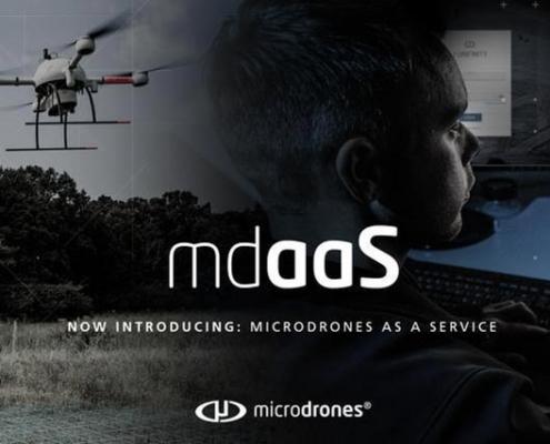 Microdrones anuncia el lanzamiento de mdaaS- Microdrones as a Service