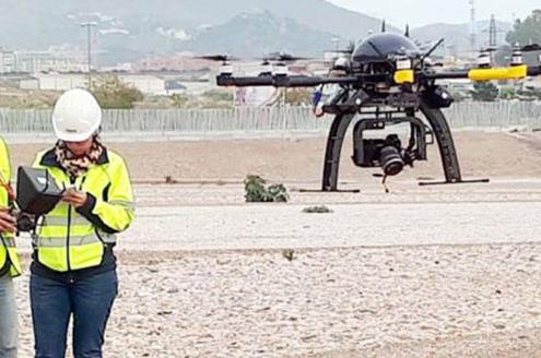 SANDO forma nuevos pilotos de drones en prevención de riesgos laborales