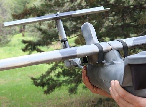 Fuerzas Armadas Españolas con la última versión del Seeker UAS