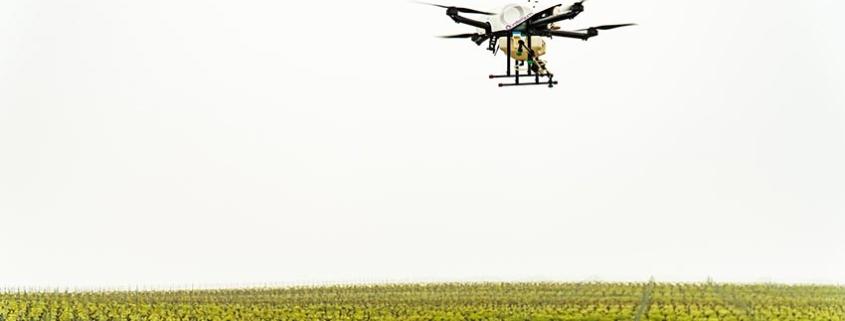 Drone híbrido para Fumigación, nuevas oportunidades para agricultores