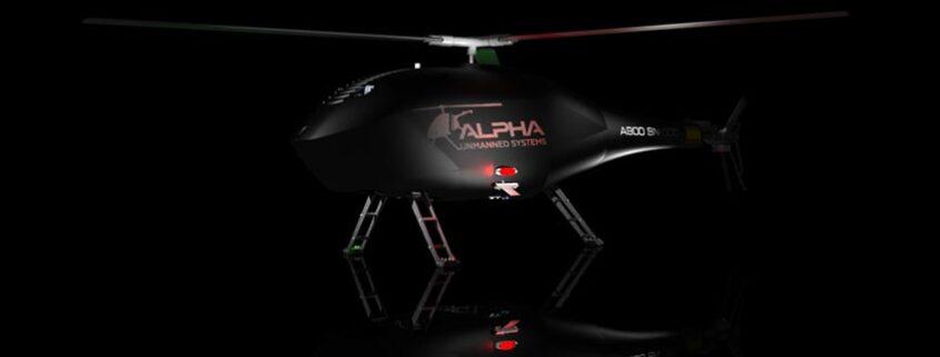 Alpha Unmanned Systems presenta su nuevo helicóptero UAV: El ALPHA 900