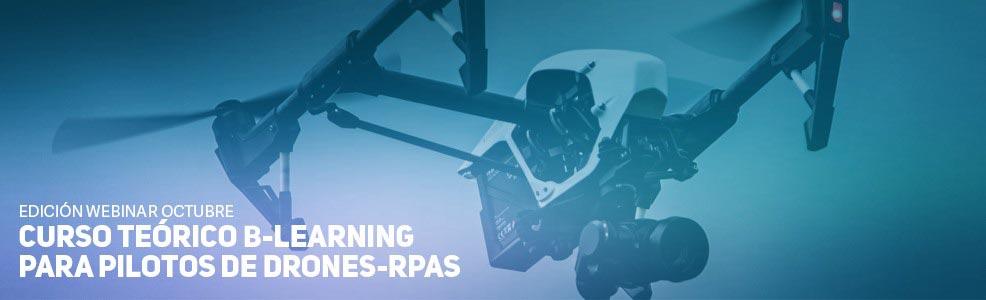 Curso Teórico B-Learning para pilotos de Drones-RPAS