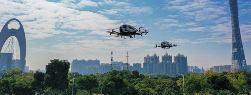 EHang, el líder mundial de tecnología de vehículos aéreos autónomos, otro de los atractivos de Expodronica 2020