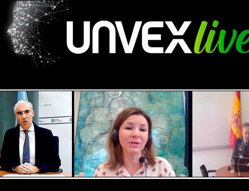 Gobierno, Xunta y Fuerzas Armadas inauguran UNVEX live
