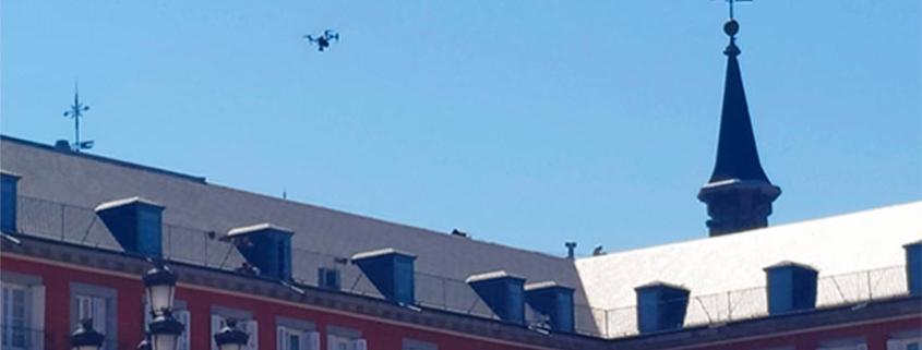ACG Drone, vuelos urbanos con drones