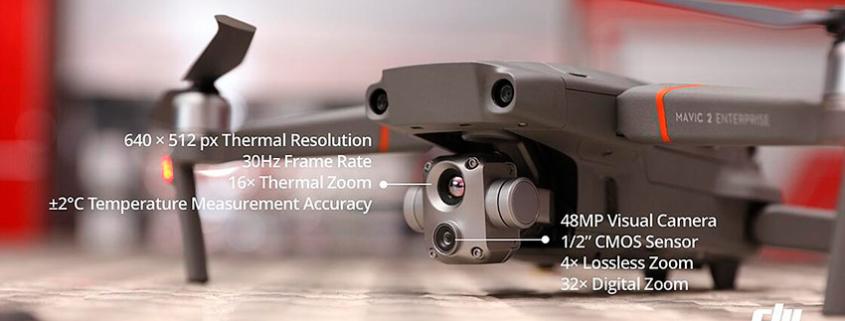 El nuevo Mavic 2 Enterprise Advanced precisión para operaciones dron críticas